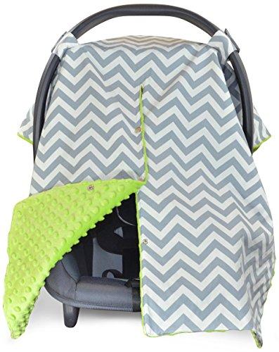 Green Baby Pram Blanket - 3