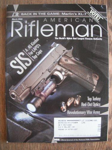 American Rifleman March 2008