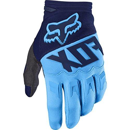 Fox Racing Dirtpaw Race Race Adult MotoX Motorcycle Gloves - Navy / Medium