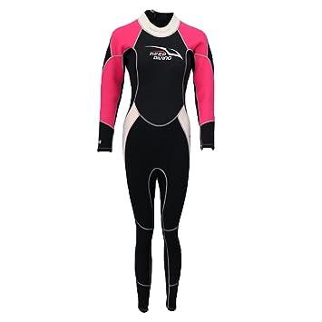 26ece2b354 MagiDeal Stretchy 3mm Neoprene Women Surf Dive Wetsuit Kayak Winter  Swimming Full Body Wet Suit Warm