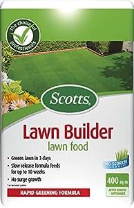 Scotts - Fertilizante para césped (bolsa, para 400 m³)