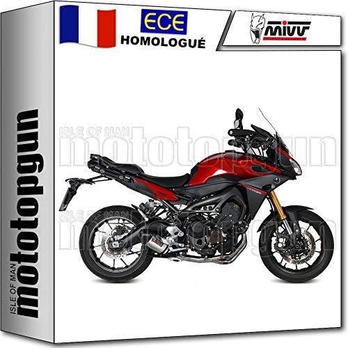 Mivv complete set voor heren, ovaal, titanium, carbon, compatibel met Yamaha Trainer 900 2016 16 Y.049.L4C