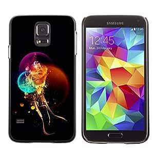 GagaDesign Phone Accessories: Hard Case Cover for Samsung Galaxy S5 - Fantasy Mystical Lion