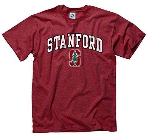 Stanford Cardinal Adult Arch   Logo Gameday T Shirt   Cardinal   X Large