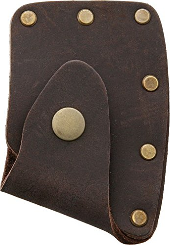 Prandi PRA706004 Brown Leather Axe Blade Cover Fits PRA0306TH