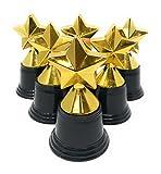 20 Bulk 4.5'' Gold Tone Star Trophies