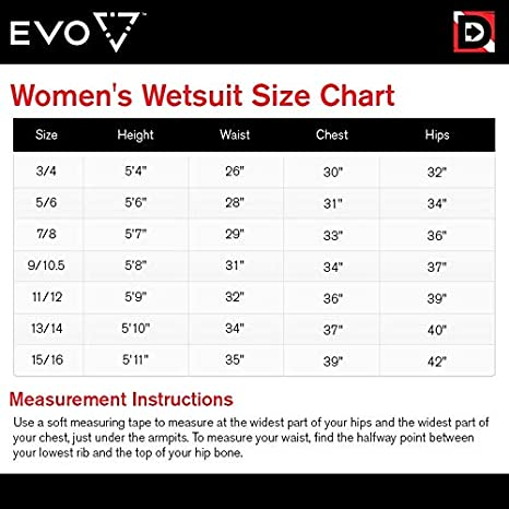 Amazon.com  EVO Elite 3mm Full Scuba Wetsuit (Women s) 3 4 Pink  Sports    Outdoors e95ef5242