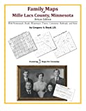 Family Maps of Mille Lacs County, Minnesota