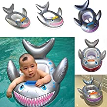 YOOMUN Inflatable Shark Baby Kids Toddler Infant Swimming Float Seat Boat Pool Ring -- 3 Years Old and Up