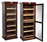 Prestige Import Group - The Barbatus Cabinet Humidor - Color: Cherry Finish