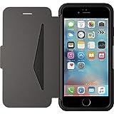 OtterBox Strada sturzsichere Folio Leder Schutzhülle für Apple iPhone 6 / 6s, Schwarz