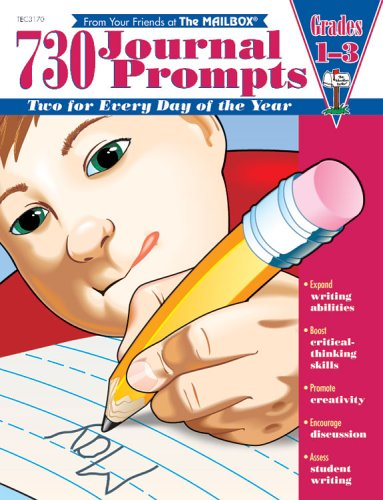 730 Journal Prompts Grades 1-3