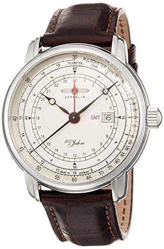 ZEPPELIN watch SpecialEdition100yearsZeppelin Silver dial Date 7646-1 Men's [regular imported goods]