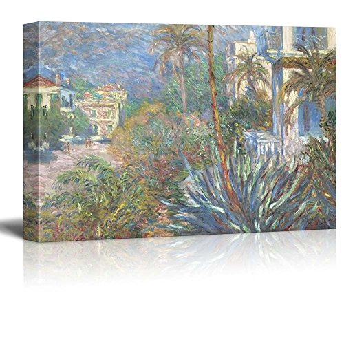 Villas at Bordighera by Claude Monet Impressionist Art