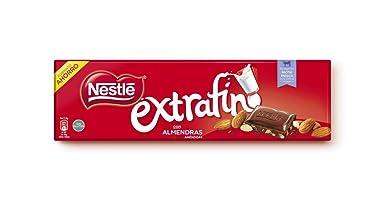 Nestlé Extrafino - Tableta de Chocolate con Leche y Almendras - 300 g: Amazon.es: Alimentación y bebidas
