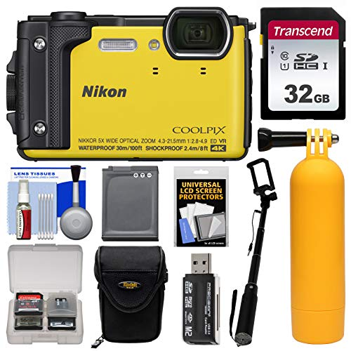 Nikon Coolpix W300 4K Wi-Fi Shock & Waterproof Digital Camer