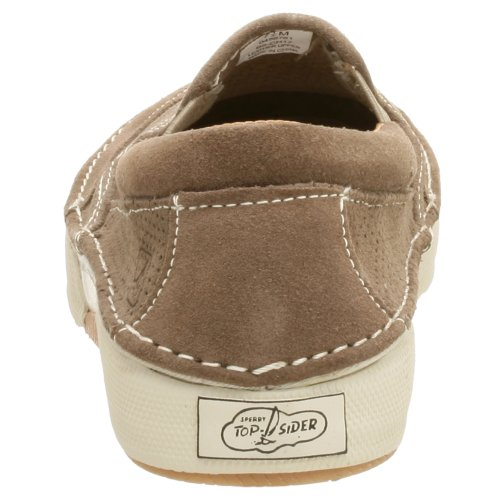 Sperry Top Sidor Medan Largo Halka På Taupe Suede