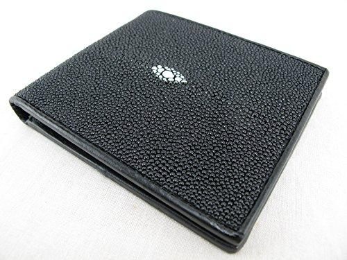 Stingray Genuine Black Bifold Wallet PELGIO PELGIO Genuine Leather Skin Stingray atqFcI