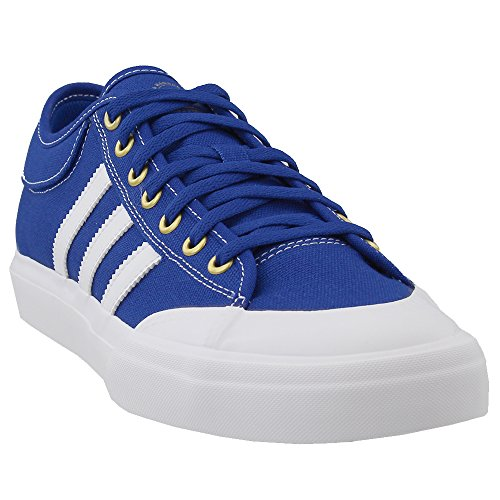 adidas Skateboarding Unisex Matchcourt Collegiate Royal/Footwear White/Gold Metallic 12 Women / 11...