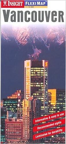 Vancouver Canada Insight Fleximap (Insight Flexi Maps