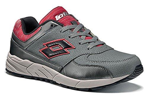 Lotto - Zapatillas de tenis para niño Grau (GREY CEMENT/BLACK)