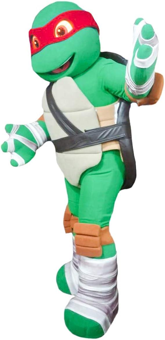 Amazon.com: Disfraz de tortuga ninja roja Raphael: Clothing