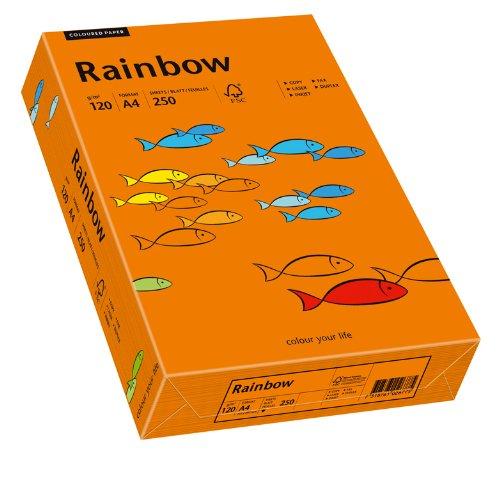 Papyrus Multifunktionspapier Rainbow, DIN A4, 120 g qm, intensivOrange, 250 Blatt, 5er Packung B07527Z5PG | Ausgezeichneter Wert