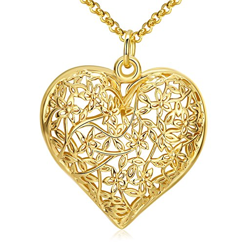 Gold Necklaces Pendant Jewelry Birthday Gifts Presents for Women Anniversary