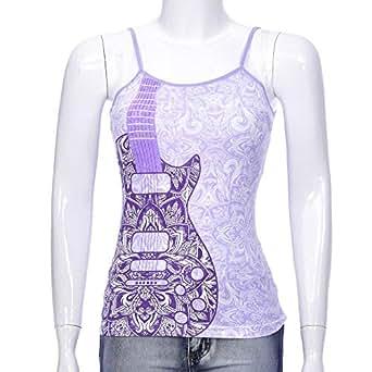 LARA DONELLA Purple Tank & Camisole For Women