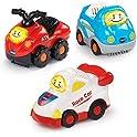 3 Pack VTech Go! Go! Smart Wheels Sports Cars