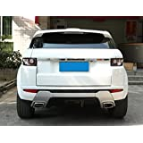 For Landrover Range Rover Evoque 2012-2016 ABS Bright Rear Trunk Lid Cover Frame Trim