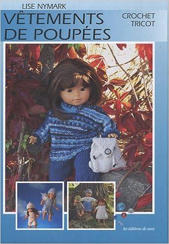 Livre Vêtements de poupées : Crochet, Tricot pdf epub