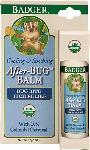 Badger Balm After-bug Itch Relief Stick .60 Oz Hang Tag Box, 0.6 Ounce