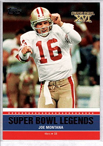 JOE MONTANA 2011 Topps Super Bowl Legends - Super Bowl Legends 2011