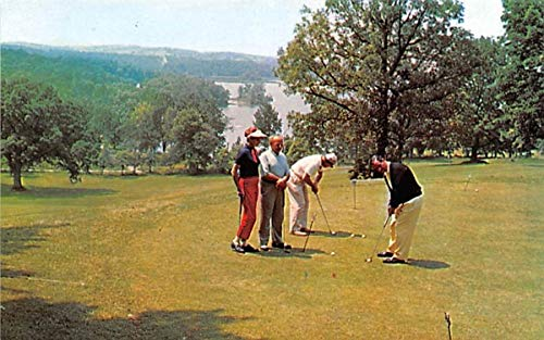 Practice Putting Green Chester, New York Postcard