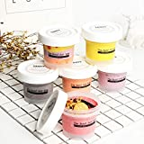 OBR KING 12PCS Plastic Ice Cream Cup with Lid