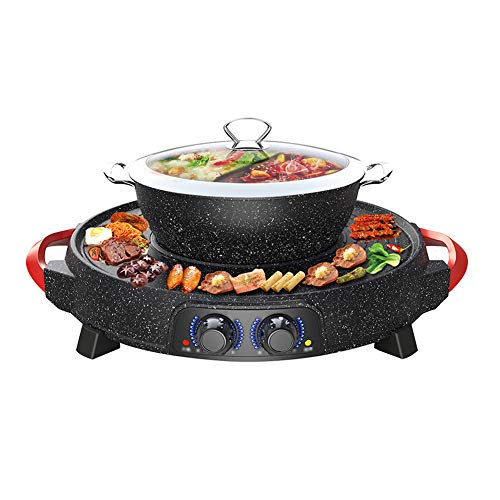 Used, YJIUJIU Hot Pot Barbecue One-Pot, Korean Multi-Function for sale  Delivered anywhere in USA