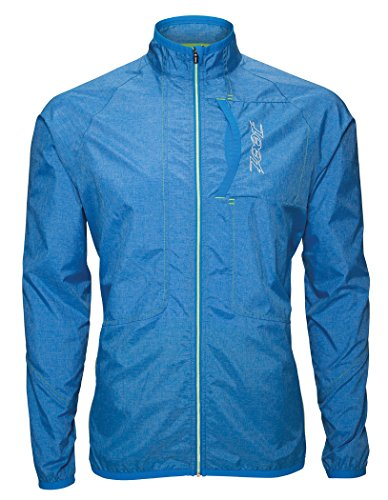ZOOT Men's Ether Wind Jacket, Zoot/Blue/Heather, Small by Zoot