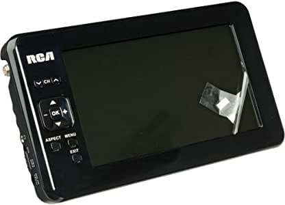 RCA - Televisor LCD portátil con antena desmontable (pantalla panorámica, 7 pulgadas): Amazon.es: Electrónica