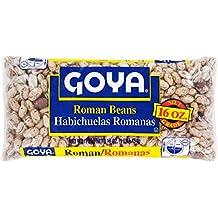 Goya Foods Roman Beans, 16 Ounce (Pack of 24)