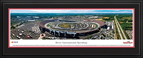 Dover International Speedway - Blakeway Panoramas NASCAR Posters with Deluxe Frame