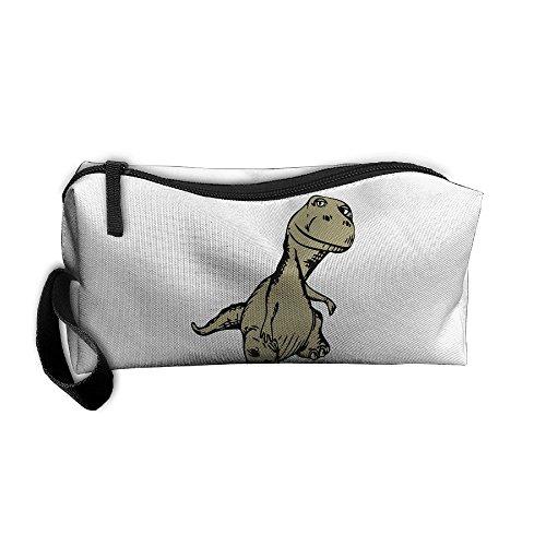 Dinosaur Storage Bag Tools Lightweight Canvas Organization With Handle (Dinosaur Train Halloween Songs)