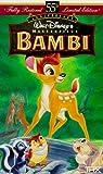 Bambi (Walt Disneys Masterpiece) [VHS]