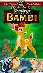 Bambi (Walt Disney\'s Masterpiece) [VHS]