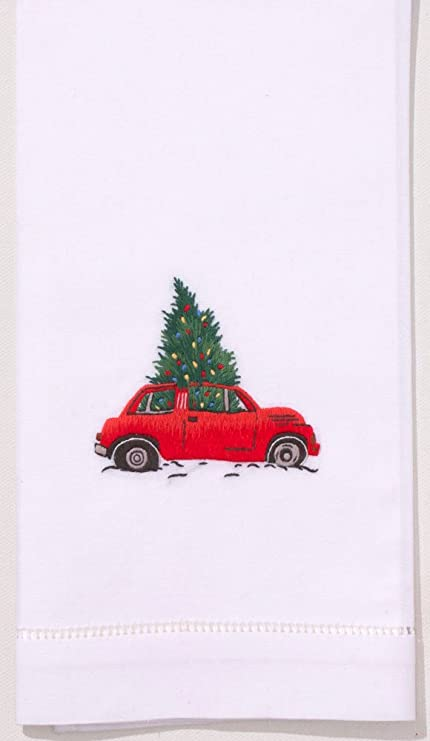 Amazon Com Henry Handwork Christmas Tree Car Towel Home Kitchen