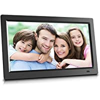 Sungale 14 Inch WiFi Cloud Digital Photo Frame with Remote Control, Free Cloud Storage, High-Resolution 1366x768 LED Display (Black)