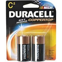 Duracell  Batteries / 2 C - size batteries
