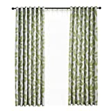Cheap Palm Leaves Blackout Curtains/Drapes,Curtains Room Darkening Thermal Chilliness Insulating Grommet Top Window Drapes,Living Room Bedroom Decor,52x95Inch,1Panels