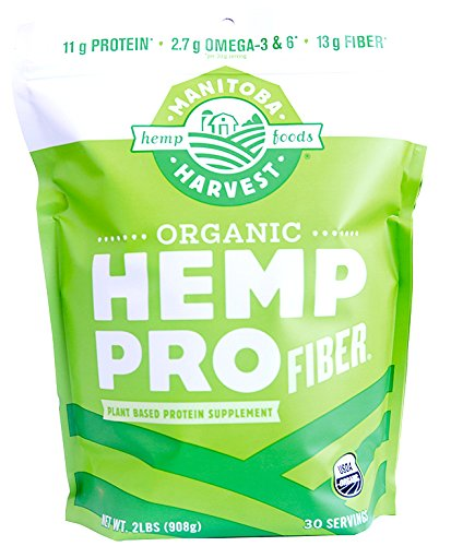 Organic Style Hemp (Manitoba Harvest Organic Hemp Pro Fiber Protein Powder, 32oz; with 13g Fiber & 11g Protein per serving, Preservative-Free)
