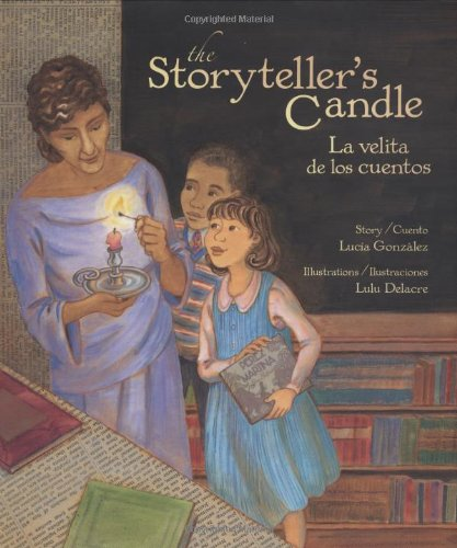 The Storyteller's Candle/La velita de los cuentos by Lee & Low Books